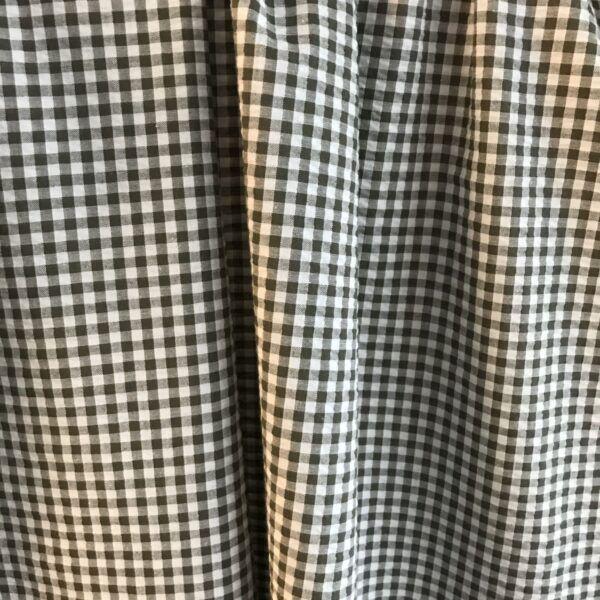 bomuld-polyester bæk og bølge armygrøn