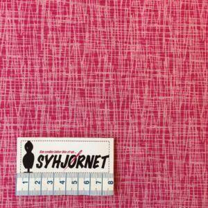 Bomuldsjersey pink økotex 100