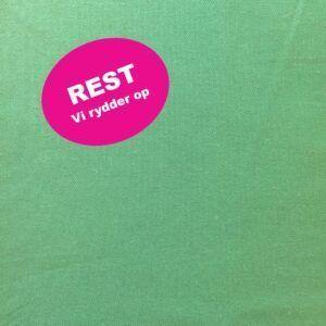 lærred i bomuld og polyester grøn REST