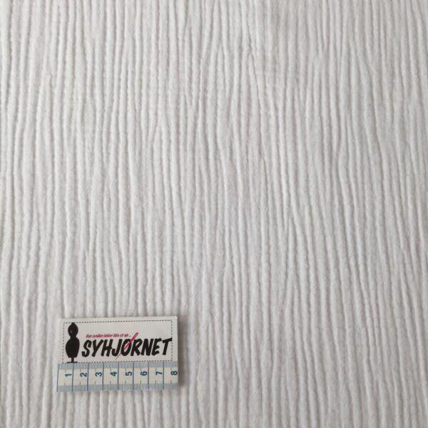 bomuld tredobbelt gauze i hvid