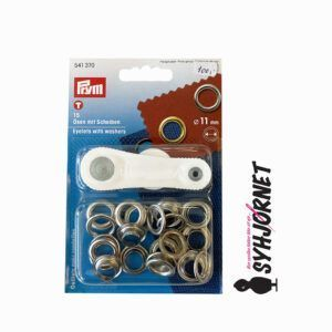 Sejlring-snørering sølv 11 mm værktøj 541370