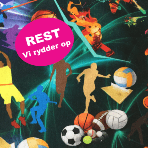bomuldsjersey med sport REST