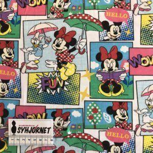 bomuldsjersey mini mouse