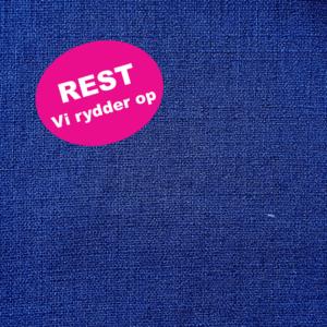 polyester vævet mørkeblå REST