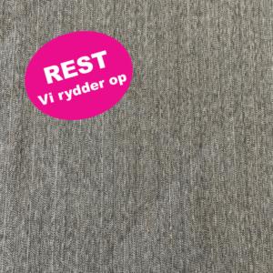 koksgrå polyester med bomuld med guldstribe REST
