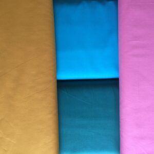 Bomulds Poplin mange farver økotex 100
