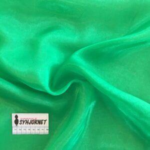 Chiffon i grøn